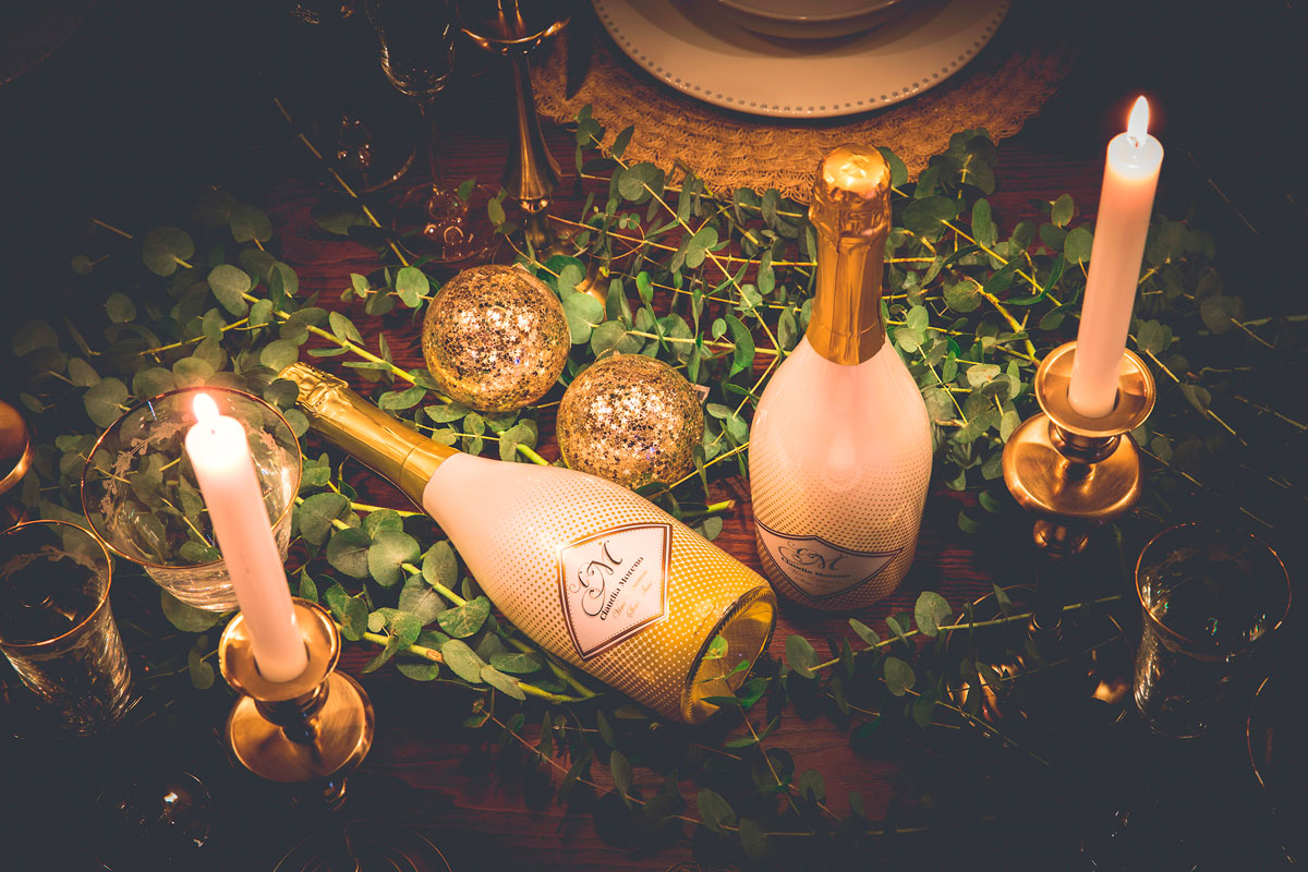 8 ideas para decorar tu mesa de Navidad
